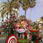 Ницца - карнавал Битва цветов